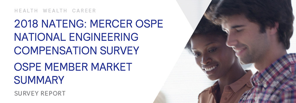 OSPE's National Engineering Compensation Survey