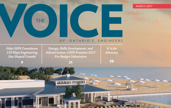 The Ontario Society of Professional Engineers - The Voice Magazine