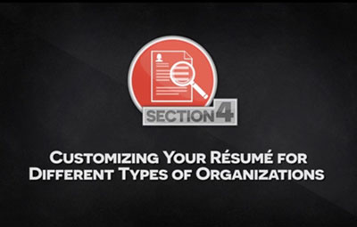 Video: Increasing employment opportunities for international engineering graduates - Customizing your resume for different types of organizations